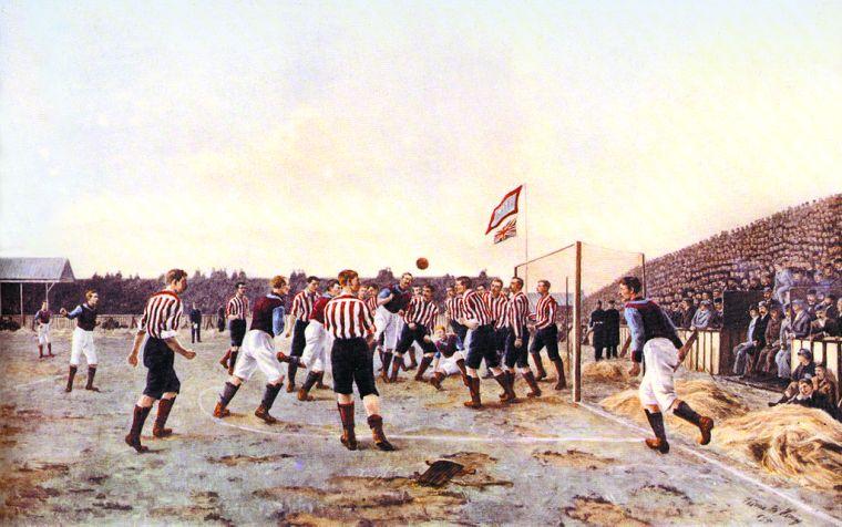 Thomas_Hemy_Sunderland_v_Aston_Villa_1895_A_Corner_Kick